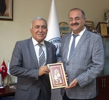 Visit to Ministry of Forestry and Water Affairs Water Management Director Cumali KINACI