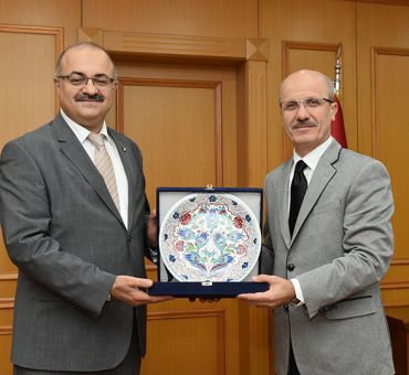 Marmara Üniversitesi'ne Ziyaret