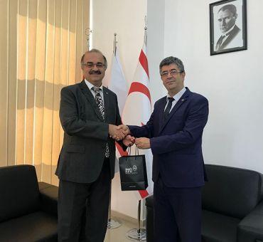 Bahçeşehir Kıbrıs Üniversitesi'ne Nezaket Ziyareti