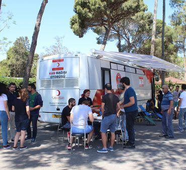 İTÜ Kuzey Kıbrıs'tan Kan Bağışı Kampanyasına Destek