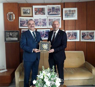 Türk Bankası'na Ziyaret