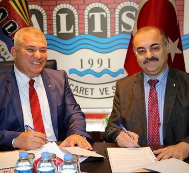 ALTSO ile İTÜ arasında işbirliği protokolü