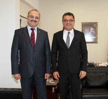 Başbakan ERHÜRMAN'a Ziyaret