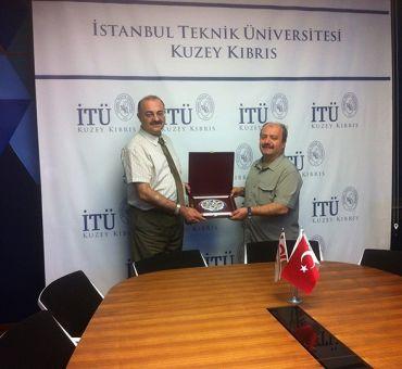 ASELSAN Yönetim Kurulu Üyeleri Üniversitemizi Ziyaret Etti
