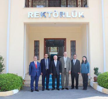 Karaca, İTÜ Kuzey Kıbrıs Kampüsü'nü Ziyaret Etti